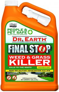 Dr. Earth Final Stop Weed & Grass Killer Herbicide